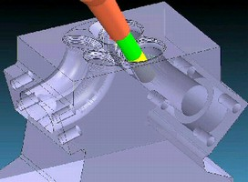 CAM Software facilitates complex machining operations.