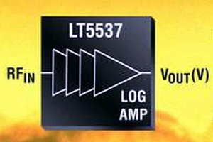 Log Amplifier operates from near DC to 1 GHz.