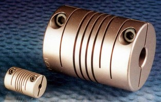 Flexible Helical Couplings feature zero backlash.