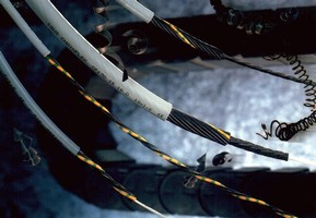 Flexible Cable withstands rigors of machine tool use.