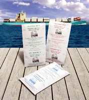 Desiccant Bags prevent rust and peeling labels.