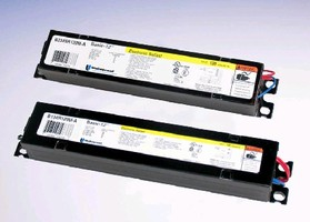 Electronic Ballasts replace magnetic T12 ballasts.