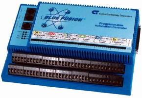 Automation Controller features embedded web server.