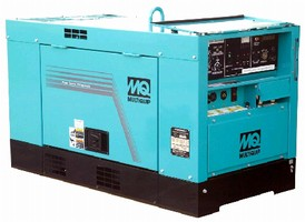 Welder/Generator delivers smooth arc characteristics.