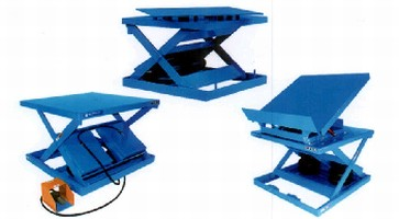 Air Lift Tables offer capacities from 1,000-16,000 lb.