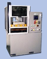 Electric Compression Press suits clean room applications.