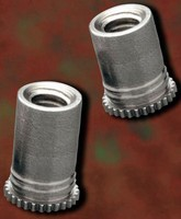 Self-Clinching Threaded Standoffs install close to edges.