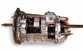Automotive Transmission handles power up to 1,200 hp.