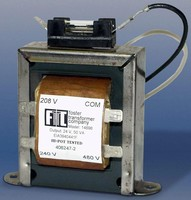 Control Transformers suit commercial applications.