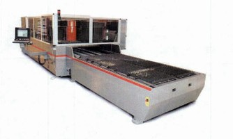 Laser Cutting System delivers 10,000 ipm head positioning.