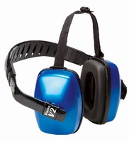Earmuffs incorporate Air Flow Control(TM) technology.
