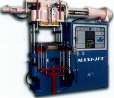 Vertical Injection Press Meets Rubber Molding Requirements