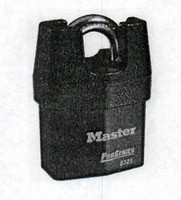 Padlocks provide heavy duty protection.