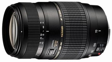 Zoom Lens features 1:2 macro capability.