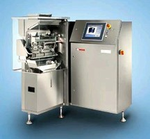 Checkweigher weighs 3,800 capsules/min.