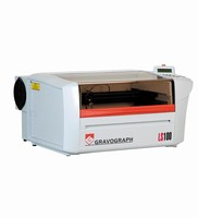 Laser Engraver is offered in tabletop model.