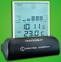 Digital Barometer is traceable to NIST standards.