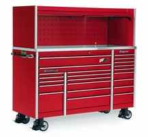 Tool Storage Unit keeps tools and equipment organized.