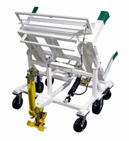 Industrial Tilt Carts have self-adjusting tilt control.