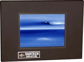 LCD Displays are viewable in any light condition.