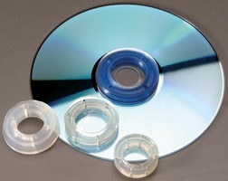 Vacuum Cups facilitate handling of CDs and DVDs.