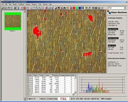 Software facilitates color- and texture-based inspection.
