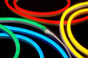 LED Tubes offer energy-efficient neon alternative.