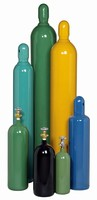 Gas Cylinders are suitable for oxygen, argon, and helium.