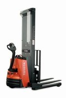 Lift Truck offers adjustable base legs.