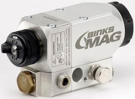 Automatic Spray Gun Is Suited For Uv Coating Applications