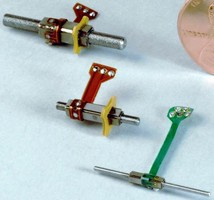 Miniature Motors deliver precise linear motion.