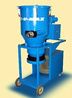 Industrial Vacuum Cleaner uses continuous bagging system.