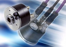 Absolute Encoder fits into space-restricted equipment.