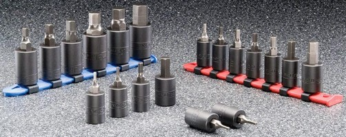 Impact Hex Bit Sockets resist wear and corrosion.