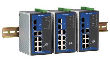 Gigabit Ethernet Bandwidth on Gigabit Ethernet Switch Suits Bandwidth Critical Applications   Moxa