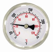 Dial Thermometer feature bi-metal design.