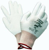 Dyneema� Gloves protect hands from cuts and abrasions.