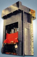 Hydraulic Press suits compression molding applications.