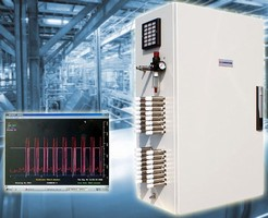 Monitoring System surveys toxic and flammable gases.