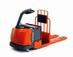 Pallet Trucks feature AC drive system.