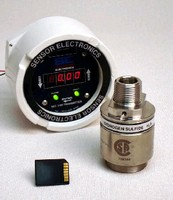 Gas Detection System uses plug-in memory stick.