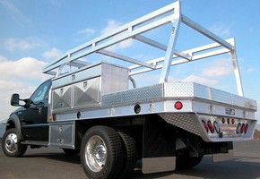 Marine-Grade Flatbed lets trucks carry heavier payloads.