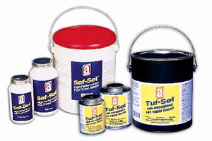 Thread Sealant suits HVAC applications.