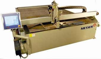 Plasma Cutting Machine has rigid, space-conscious design.