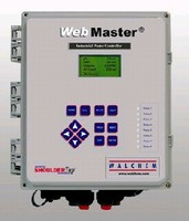 Industrial Water Controller uses web browser.