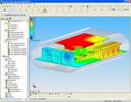 EFD Software enables thermal analysis of electronics.