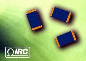 Chip Resistors feature self-passivating element.