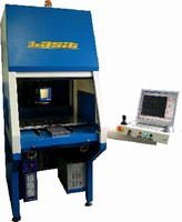 Industrial Laser Marking System features air-cooled design.