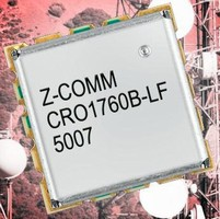 Coaxial Resonator VCO suits microwave radio applications.