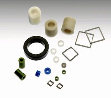 Pressed Glass Spacers enable glass-to-metal seal.